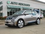 2014 BMW i3 Base w/Range Extender NAV, HTD STS, BLUETOOTH, AUX INPUT, SAT RADIO, PUSH BUTTON, LEATHER/CLOTH STS