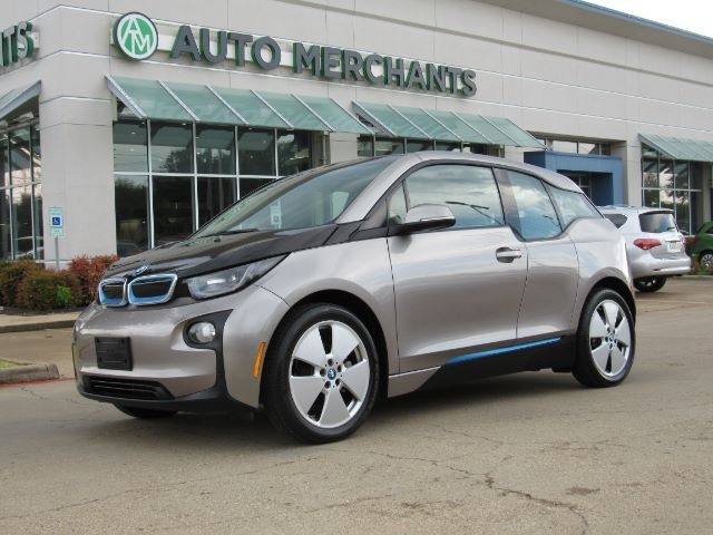 2014 BMW i3 Base w/Range Extender NAV, HTD STS, BLUETOOTH, AUX INPUT, SAT RADIO, PUSH BUTTON, LEATHER/CLOTH STS Plano TX