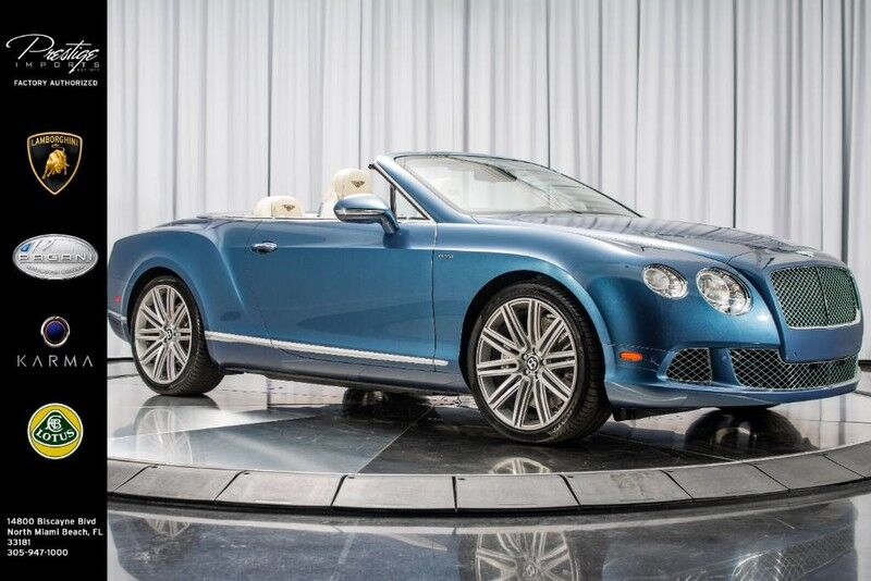 2014_Bentley_Continental GT Speed__ North Miami Beach FL