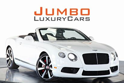 2014 Bentley Continental GTC GT V8 Convertible