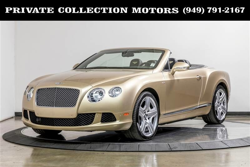 2014_Bentley_Continental GTC_Mulliner $253k MSRP_ Costa Mesa CA