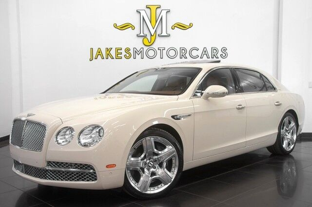 2014 Bentley Flying Spur W12 MULLINER *4-PLACE SEATING* *REAR TV'S* *CERAMIC BRAKES* San Diego CA