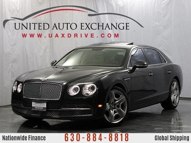 2014 Bentley Flying Spur W12 Mulliner AWD w/ Sunroof, Bluetooth & Front and Rear Parking Aid with Rear View Camera Addison IL