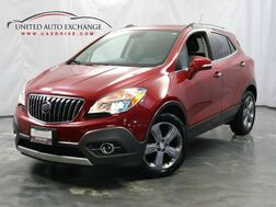 2014_Buick_Encore_1.4L Ecotec Turbo Engine / FWD / Sunroof / Navigation / Bluetooth / Rear View Camera / Heated Leather Seats_ Addison IL
