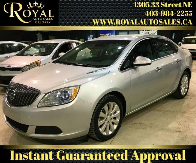 2014_Buick_Verano_Base LEATHER, INT PHONE, MP3_ Calgary AB