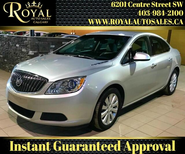 2014_Buick_Verano_Base LEATHER, INT PHONE, WOOD TRIM_ Calgary AB
