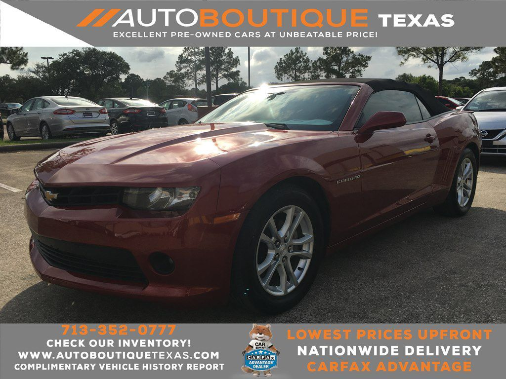 2014 CHEVROLET CAMARO LT LT Houston TX