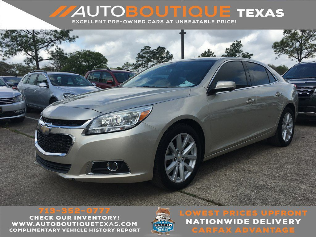 2014 CHEVROLET MALIBU 2LT 2LT Houston TX