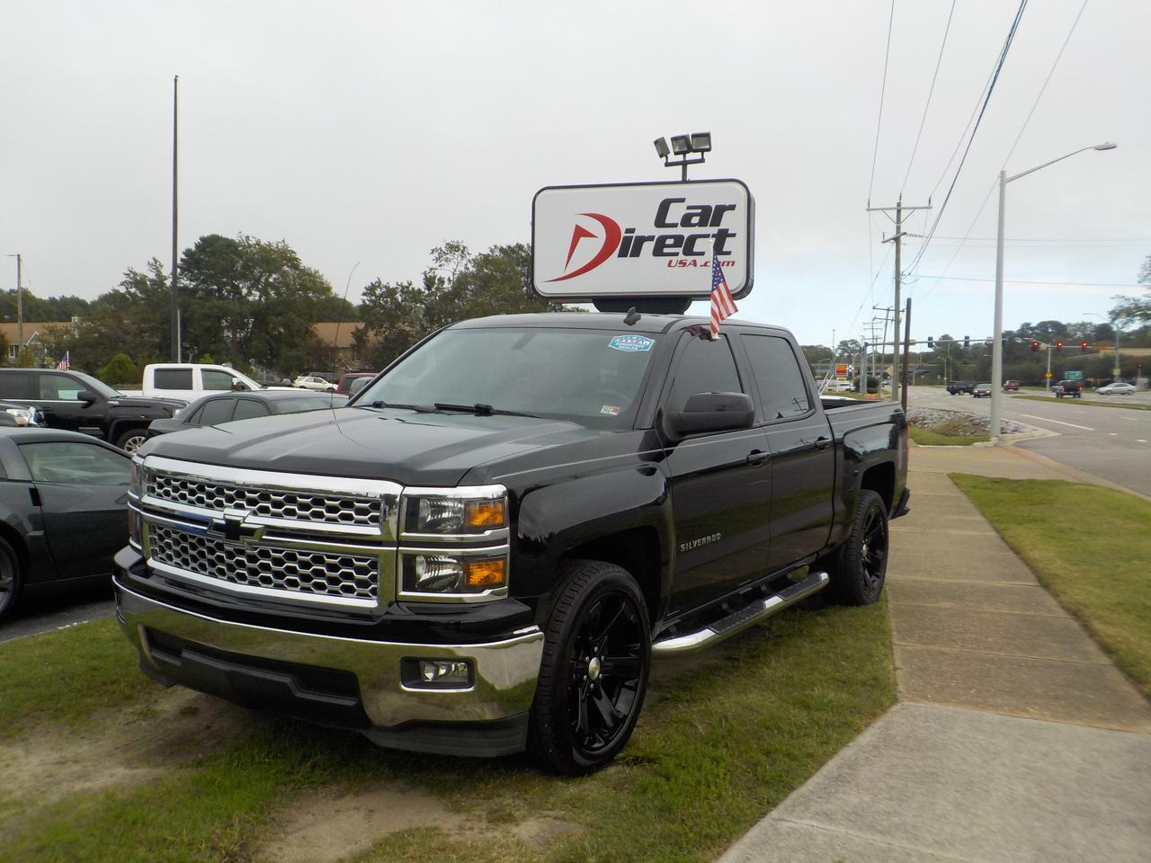 2014 CHEVROLET SILVERADO 1500 CREW CAB LT, RUNNING BOARDS, TOW PACKAGE, BACKUP CAMERA, REMOTE START, LOW MILES!