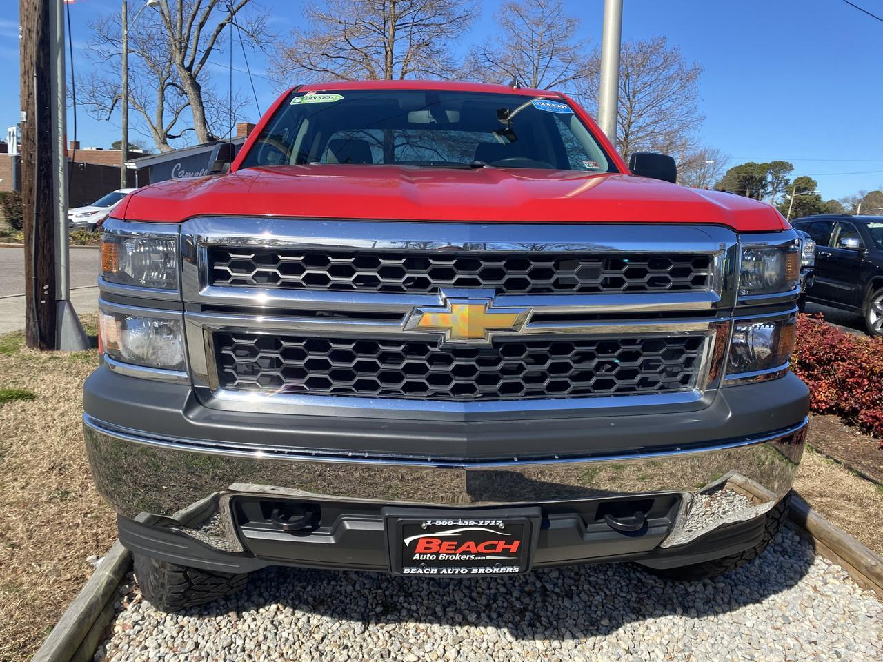 2014 CHEVROLET SILVERADO 1500 WORK TRUCK DOUBLE CAB 4X4, WARRANTY, LIFTED, CRUISE CONTROL, A/C, TOWING PKG! Norfolk VA