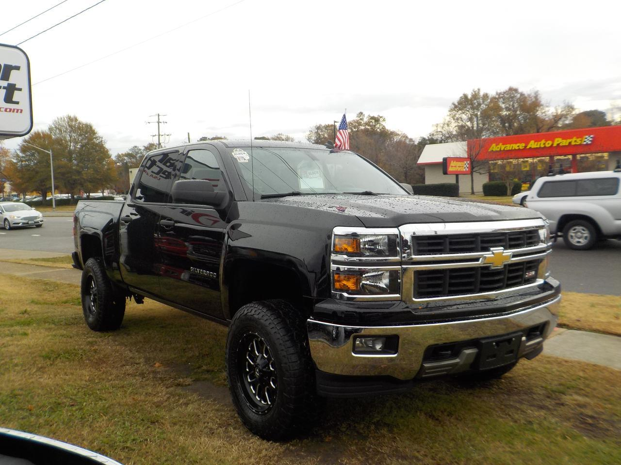 2014 CHEVROLET SILVERADO LIFTED 4X4, BLACK FUEL RIMS, NAVIGATION, REMOTE START, TOW PACKAGE! Virginia Beach VA
