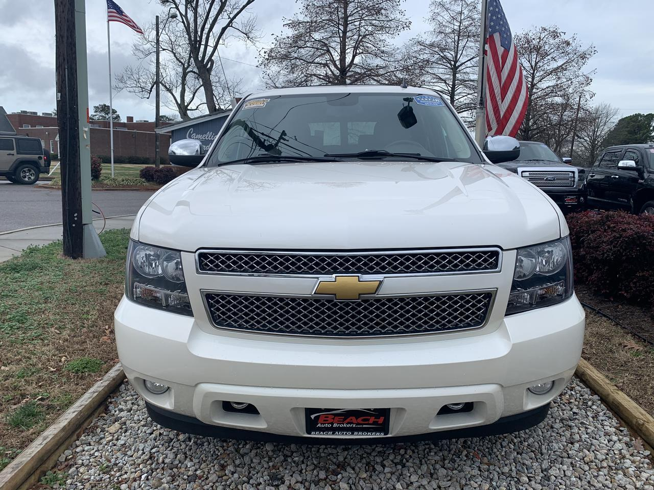 2014 CHEVROLET TAHOE LTZ 4X4, WARRANTY, LEATHER, NAV, SUNROOF, CAPTAINS CHAIRS, FULLY LOADED, 1 OWNER! Norfolk VA
