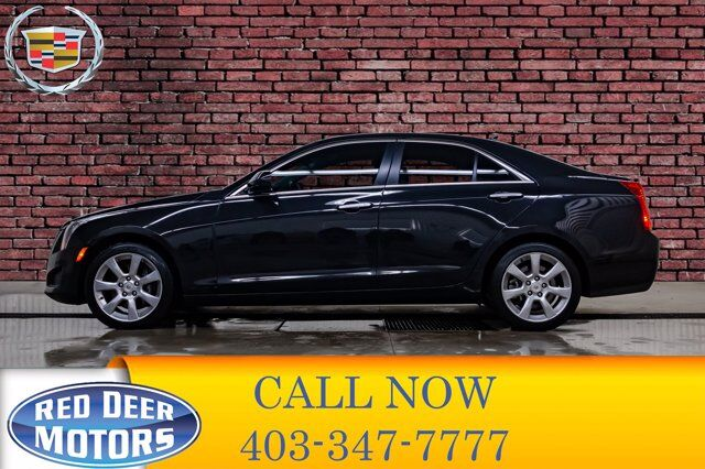2014 Cadillac ATS AWD Turbo Leather Roof BCam Red Deer AB