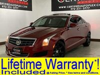 Cadillac ATS LUXURY SUNROOF REAR CAMERA PARK ASSIST REMOTE ENGINE START POWER LEATHER S 2014