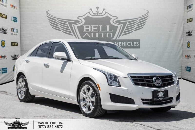 2014 Cadillac ATS Luxury AWD, NO ACCIDENT, BACK-UP CAM, BLUETOOTH Toronto ON