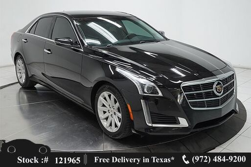 2014_Cadillac_CTS_2.0L Turbo CLMT STS,PARK ASST,KEY-GO,17IN WHLS_ Plano TX
