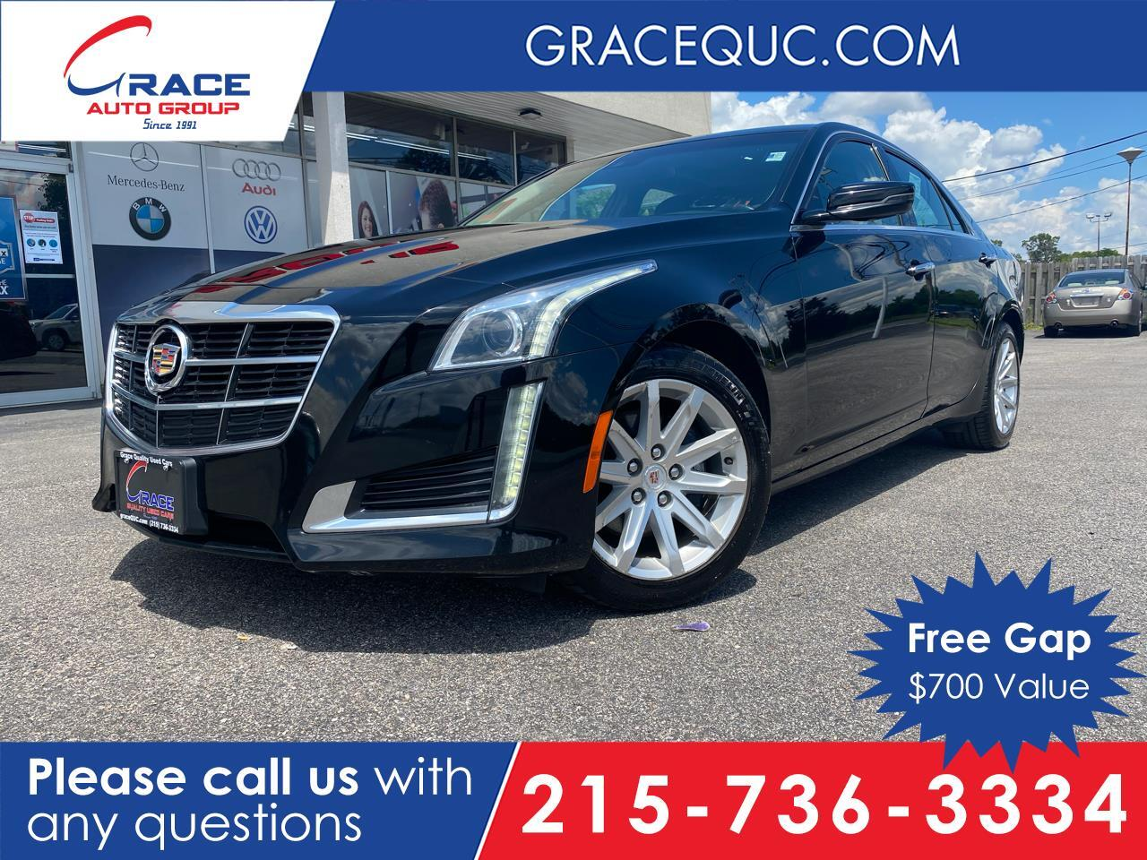 2014 Cadillac CTS 2.0L Turbo Luxury AWD Morrisville PA