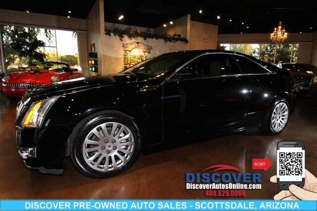 2014 Cadillac Cts Coupe 3 6 Performance Collection 2d Scottsdale Az