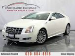 2014 Cadillac CTS Coupe AWD 3.6L V6 Engine AWD Premium w/ Navigation, Power Sunroof, Heated