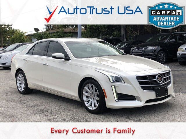 2014 Cadillac CTS Sedan 2.0L Turbo Luxury Miami FL