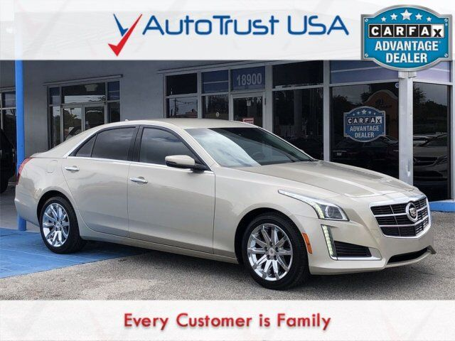 2014 Cadillac CTS Sedan 2.0L Turbo Miami FL