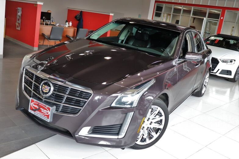 2014 Cadillac CTS Sedan AWD Seating Package Navigation Sunroof Springfield NJ