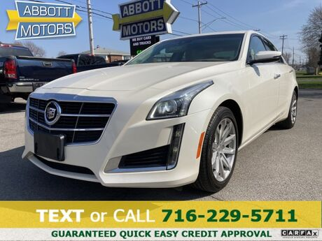 2014 Cadillac CTS Sedan Luxury AWD Pano Roof Navigation Hot/Cold Seats Buffalo NY