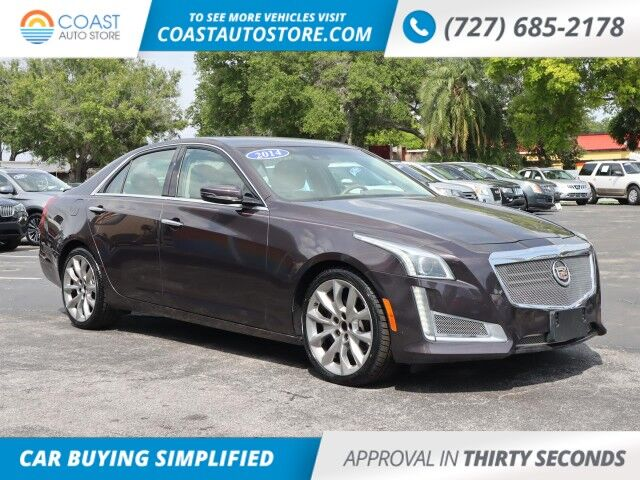 2014 Cadillac CTS Sedan Luxury AWD Saint Petersburg FL