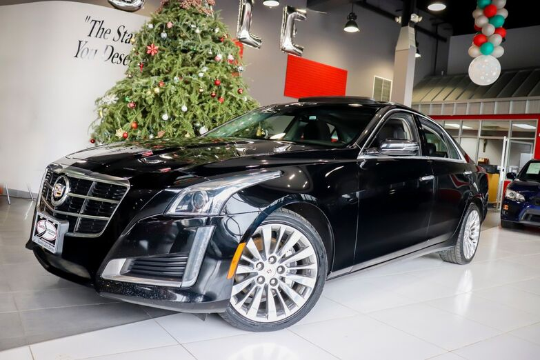 2014 Cadillac CTS Sedan Luxury AWD Sunroof 18 Inch Wheels Navigation Springfield NJ