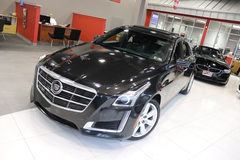 2014 Cadillac CTS Sedan Premium AWD Navigation Sunroof Heads Up Display 1 Owner Springfield NJ