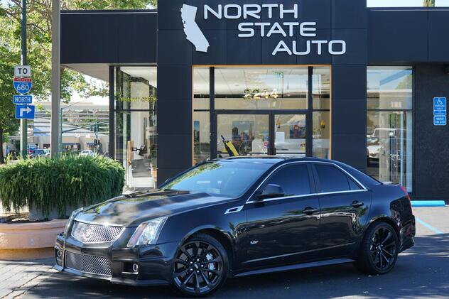 2014_Cadillac_CTS-V Sedan__ Walnut Creek CA