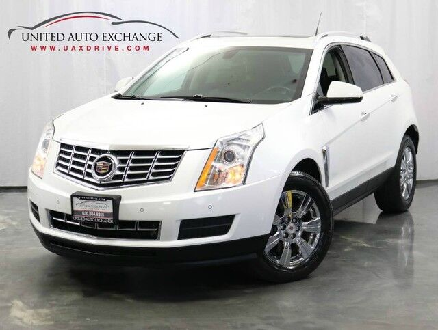 2014 Cadillac SRX 4 Luxury Collection / 3.6L V6 Engine / AWD / Panoramic Sunroof / Bose Premium Sound System / Navigation / Bluetooth / Parking Aid with Rear View Camera Addison IL