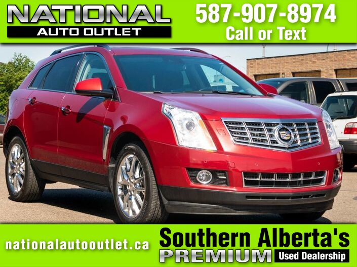 2014 Cadillac SRX Premium - AWD -HEATED AND COOLED LEATHER Lethbridge AB