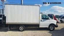 2014_Chevrolet_3500 Express_12' Box w/ railgate_ Homestead FL