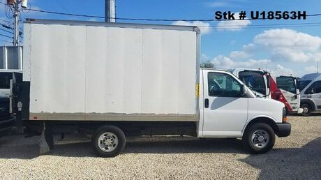 2014 Chevrolet 3500 Express 12' Box w/ railgate Homestead FL