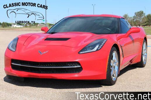 2014 Chevrolet Corvette Stingray 1LT Lubbock TX