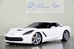 2014 Chevrolet Corvette Stingray 3LT Automatic Performance Exhaust Dual Roof Pkg