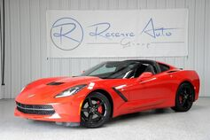 2014 Chevrolet Corvette Stingray 3LT Dual Roof Pkg Performance Exhaust