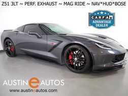 2014_Chevrolet_Corvette Stingray Z51 3LT_*HEADS-UP DISPLAY, NAVIGATION, BACKUP-CAMERA, COLOR TOUCH SCREEN, NAPPA LEATHER, CLIMATE SEATS, REMOTE START, PERFORMANCE EXHAUST, BLUETOOTH PHONE & AUDIO_ Round Rock TX