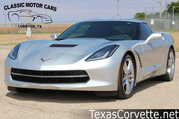2014 Chevrolet Corvette Stingray Z51 3LT Lubbock TX