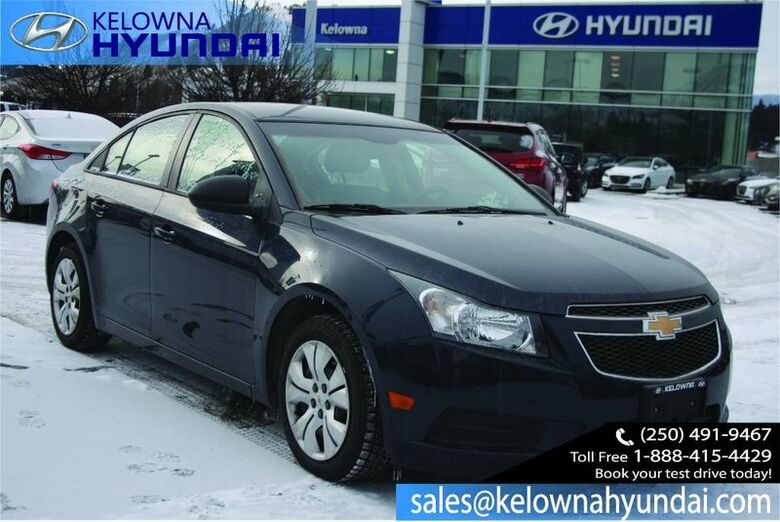 2014 Chevrolet Cruze 1LS Remote Keyless Entry Kelowna BC