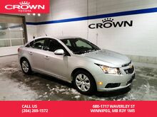 2014_Chevrolet_Cruze_1LT / Clean Carproof / Local / Low Kms / Great Condition_ Winnipeg MB