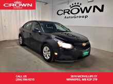 2014_Chevrolet_Cruze_1LT/Mt/ Accident-free history/ low kilometers_ Winnipeg MB