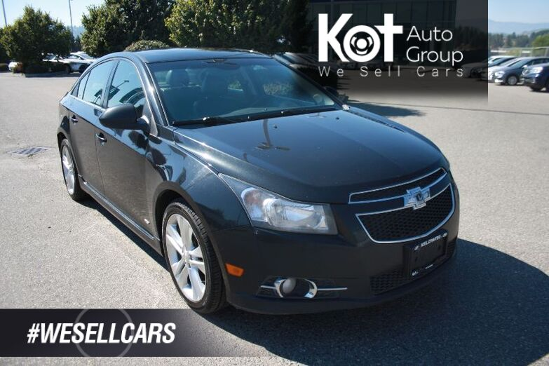 2014 Chevrolet Cruze 2LT BLUETOOTH! HEATED SEATS! WON'T LAST! LOW PAYMENT! Penticton BC