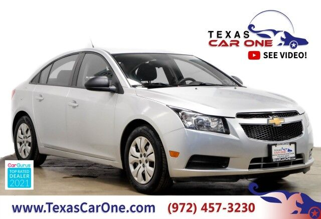2014 Chevrolet Cruze LS BLUETOOTH REMOTE KEYLESS ENTRY STEERING WHEEL CONTROLS Carrollton TX