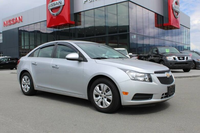 2014 Chevrolet Cruze LT, Auto, Low Km's and Fuel Efficient Kelowna BC