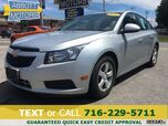 2014 Chevrolet Cruze LT w/Alloys and Bluetooth