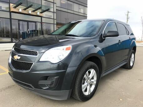 2014_Chevrolet_Equinox_LS AWD 2.4 Liter ~ 6 Speed Automatic ~ $0 Down Low as $199 mo. 888-299-8130_ Sherwood Park AB