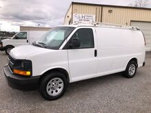 2014_Chevrolet_Express 1500 Cargo Van w/ Ladder Rack & Bins__ Ashland VA