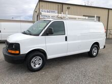 2014_Chevrolet_Express 2500 Cargo Van w/ Ladder Rack & Bins__ Ashland VA